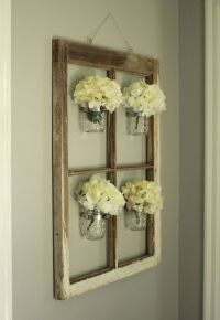 25 Ways to Decorate with Vintage Windows - A Hundred ...