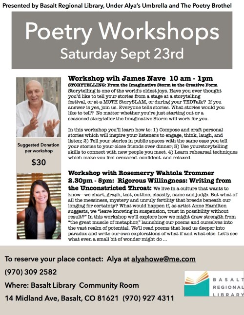 Aspen Poetry Workshop