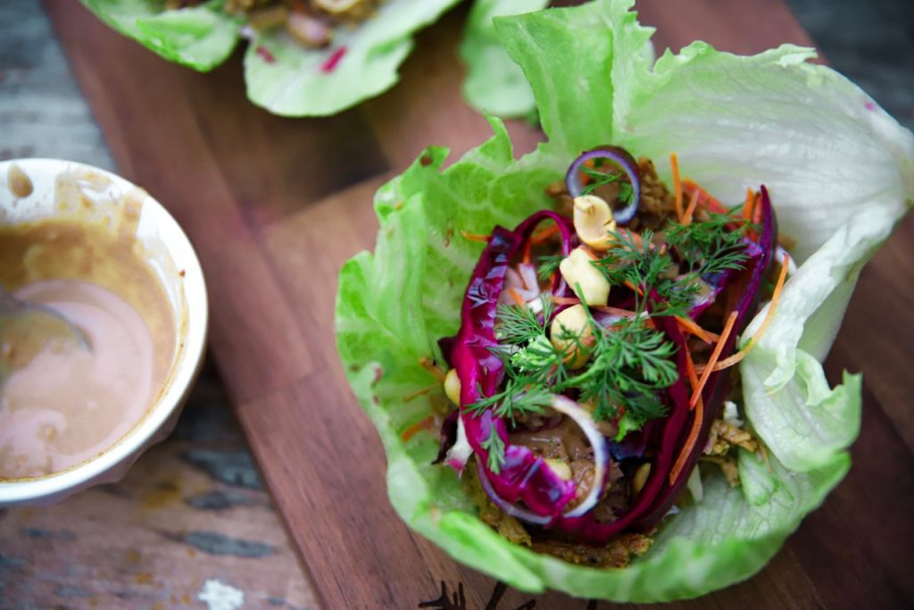 Pork Lettuce Wraps