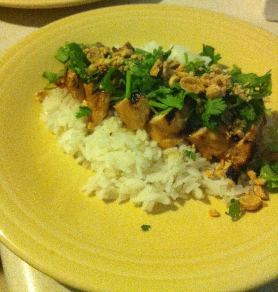 Asian Chili Lime Chicken