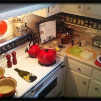 Mise En Place (There's a word for my type A kitchen behavior!!!)