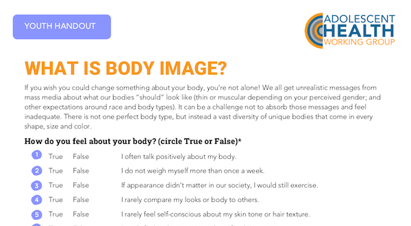 What is Body Image