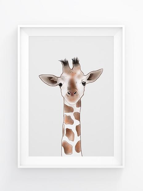 Illustration Gustaf Giraffe by NIcoel Scholtysik -gefunden bei AHWH.CH