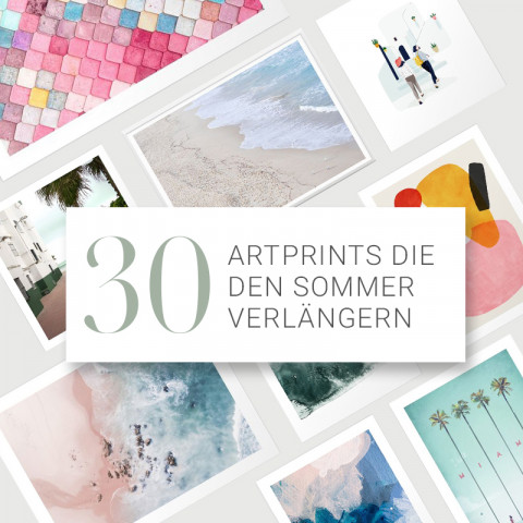 30+ Artprints that will make summer last longer - by AHWH.CH