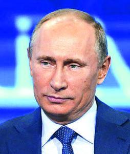 Владимир Путин президент РФ