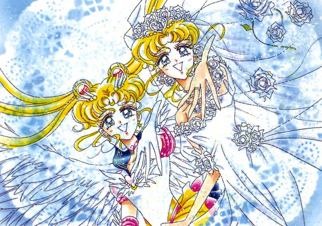 Anime Girl Holding Hands Wallpaper Ai No Senshi Net