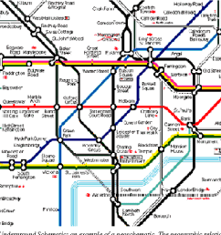 the london underground schematic an example of a geoschematic the geographic [ 1106 x 748 Pixel ]
