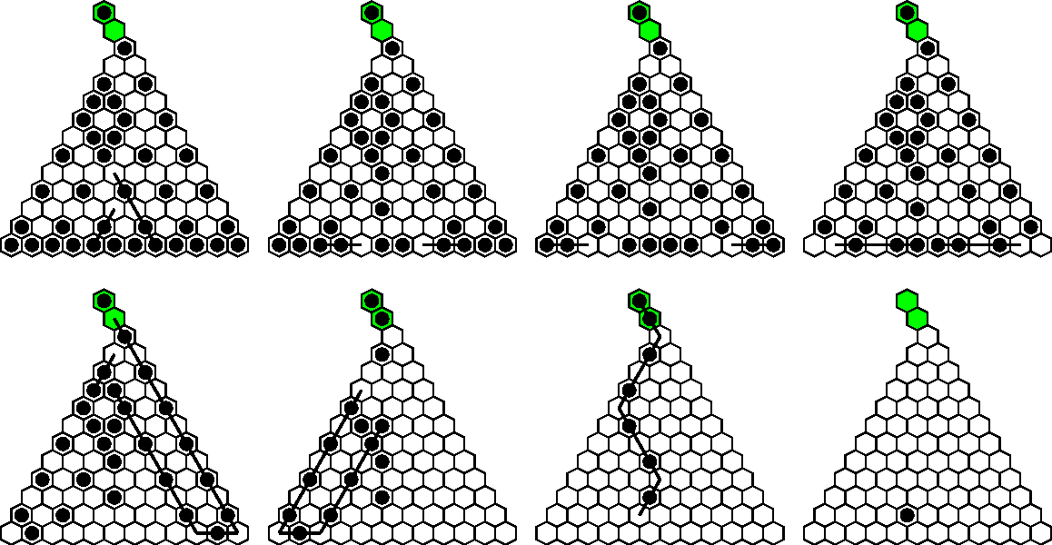 Figure 7 from Triangular Peg Solitaire Unlimited