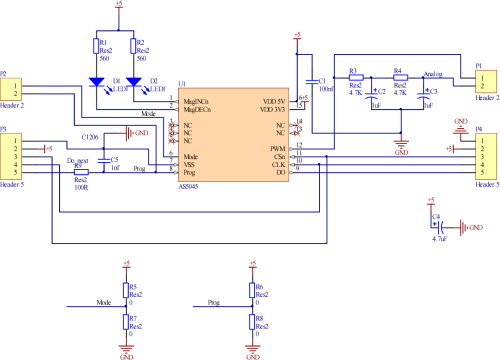 small resolution of 3 schematic of driver circuit of encoder