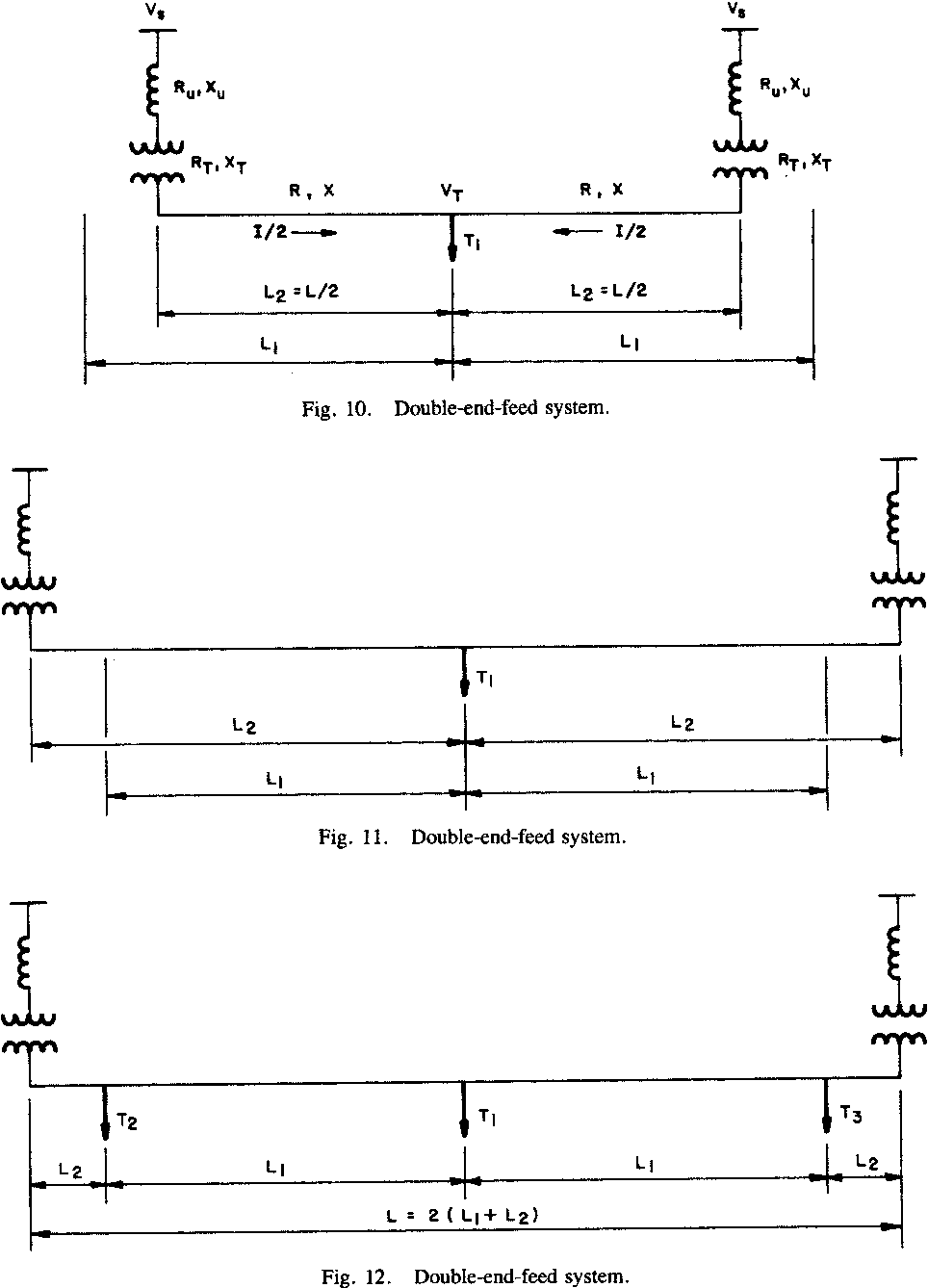 hight resolution of double end feed system