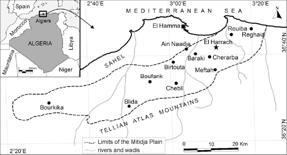 Figure 1 from Bird Species Diversity of the Mitidja Plain