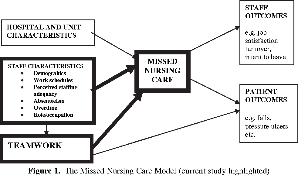 Figure 1 from The impact of teamwork on missed nursing