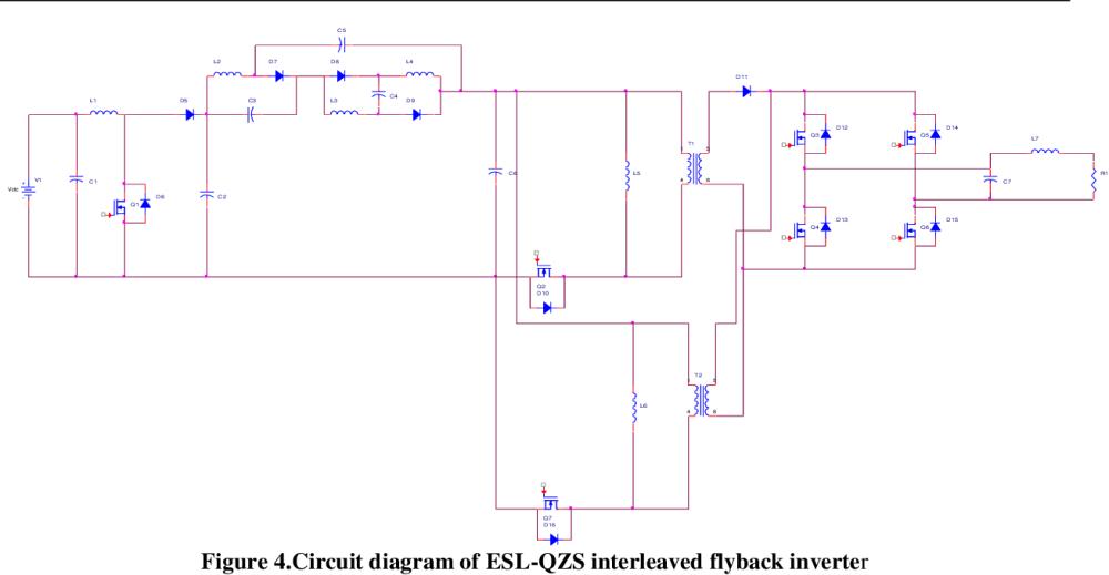 medium resolution of circuit diagram of esl qzs interleaved flyback inverter