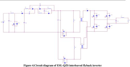 small resolution of circuit diagram of esl qzs interleaved flyback inverter
