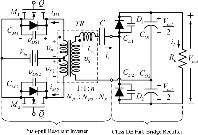 Figure 1 from Push-pull zero-voltage switching resonant DC