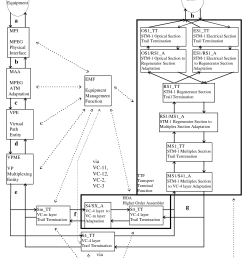 figure a 1 functional blocks of the sdh network adapter [ 1254 x 1612 Pixel ]