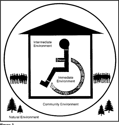 small resolution of figure 1 the person and sectors of the environment the diagram relates the person