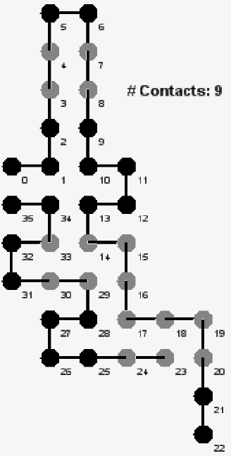 Figure 8 from Combinatorial Algorithms for Protein Folding