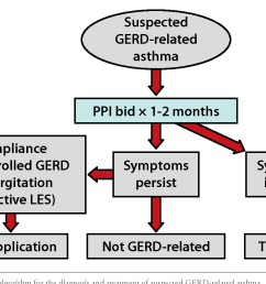 a suggested algorithm for the diagnosis and treatment of suspected gerd related [ 1276 x 850 Pixel ]