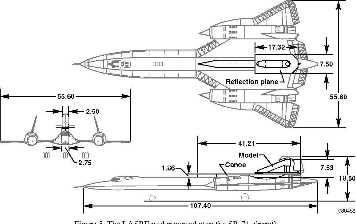Figure 3 from Flight Testing the Linear Aerospike SR-71