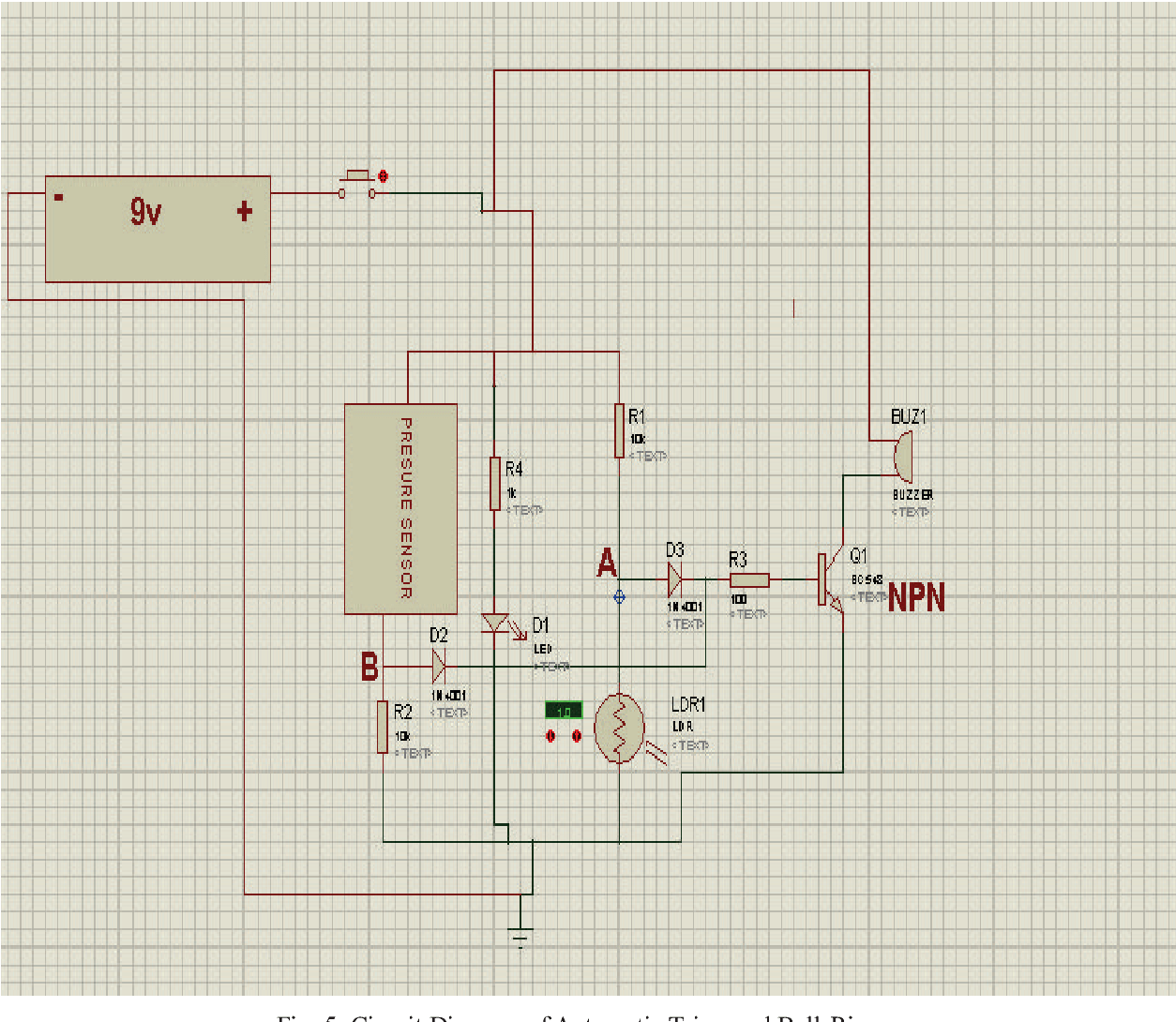 hight resolution of 5 circuit diagram of automatic triggered bell ringer