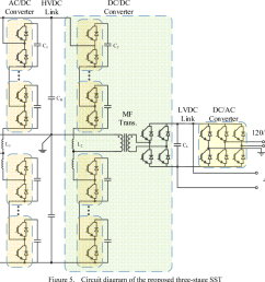 circuit diagram of the proposed three stage sst [ 990 x 864 Pixel ]