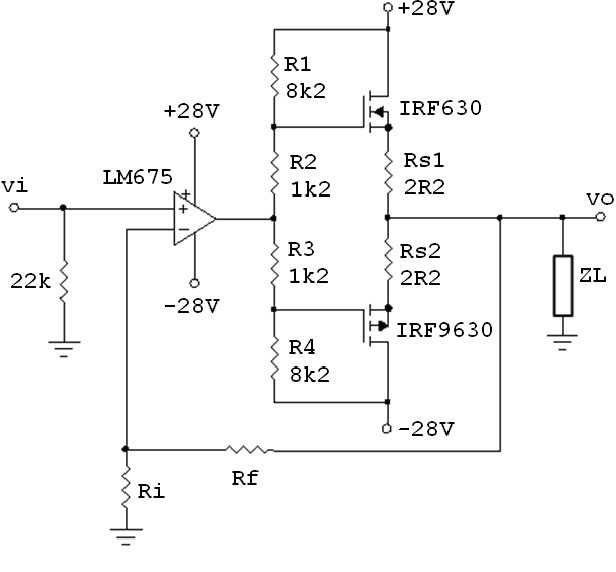 Figure 4 from Output stages inside a negative feedback