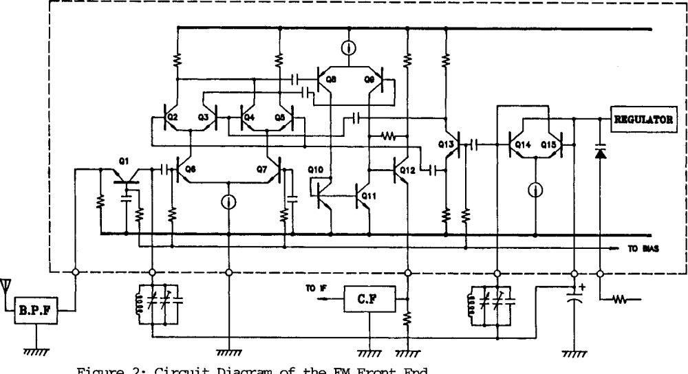 medium resolution of figure 2 circuit diagram of the fm front end
