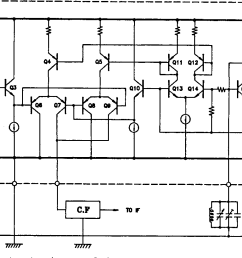 figure 10 from a complete single chip am fm radio integrated circuit figure 10 circuit diagram [ 1396 x 820 Pixel ]