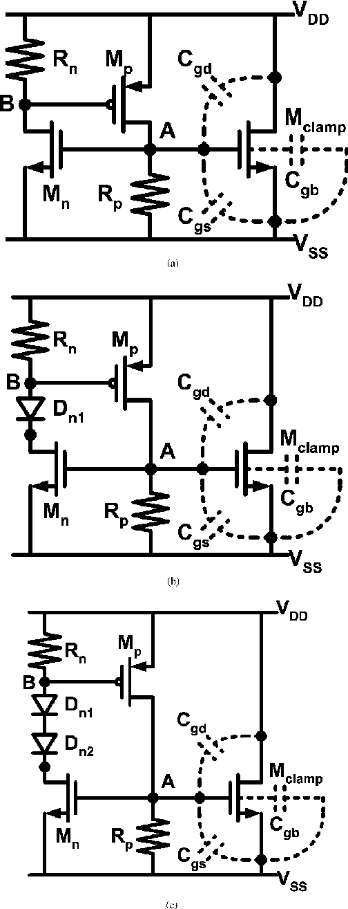 Capacitor-Less Design of Power-Rail ESD Clamp Circuit With