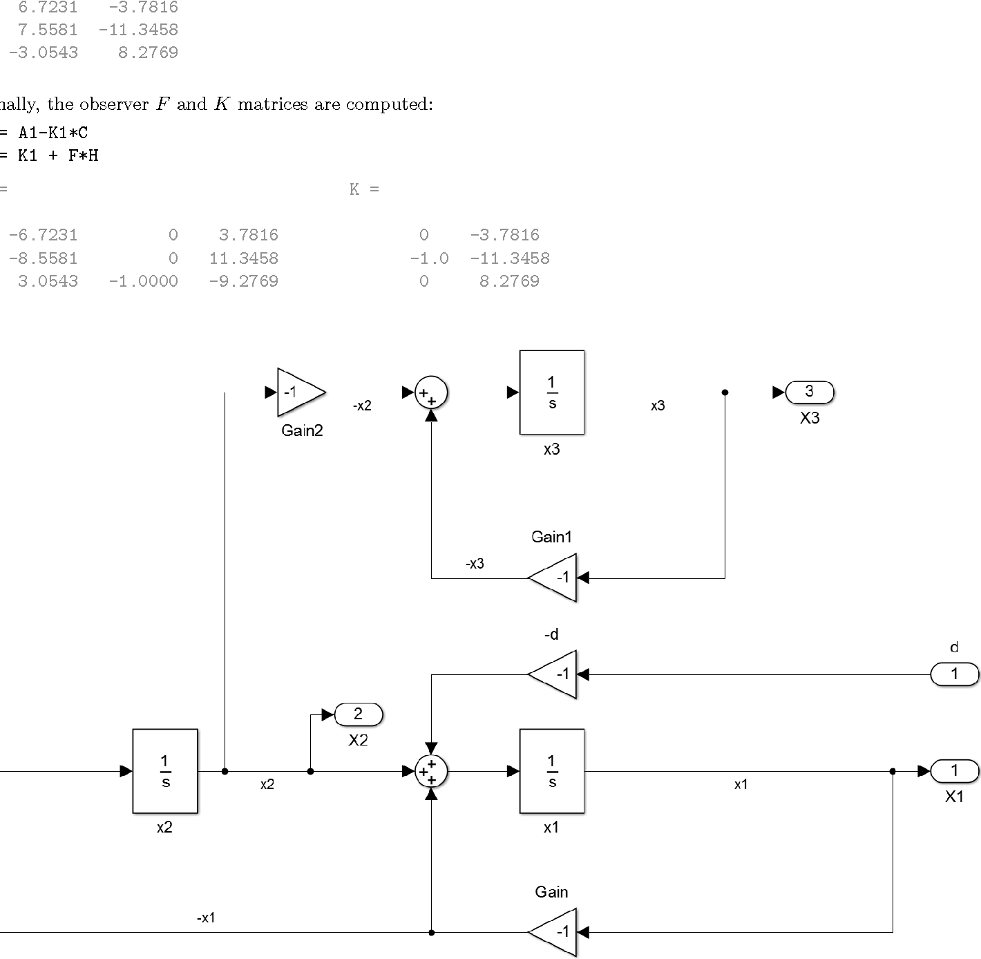 hight resolution of figure 2 simulink block diagram of the dynamics subsystem