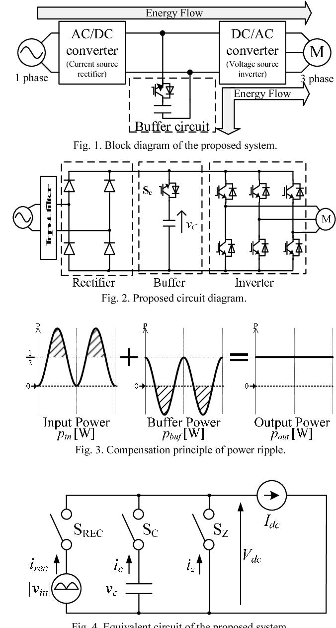 Single Phase To Three Phase Converter Circuit Diagram