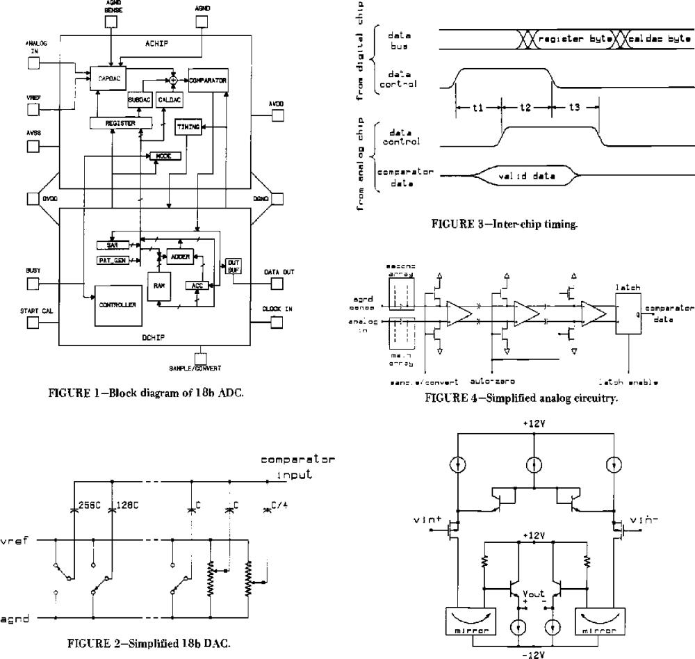 medium resolution of figure 1 block diagram of 18b adc