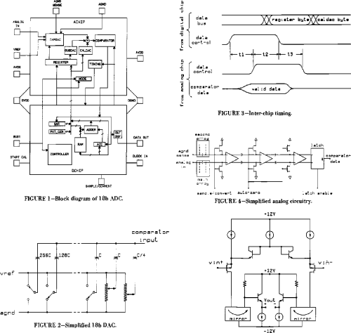 small resolution of figure 1 block diagram of 18b adc