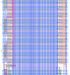 figure a 5 90 rotated layout picture of the 32 bit comparator used [ 904 x 1600 Pixel ]