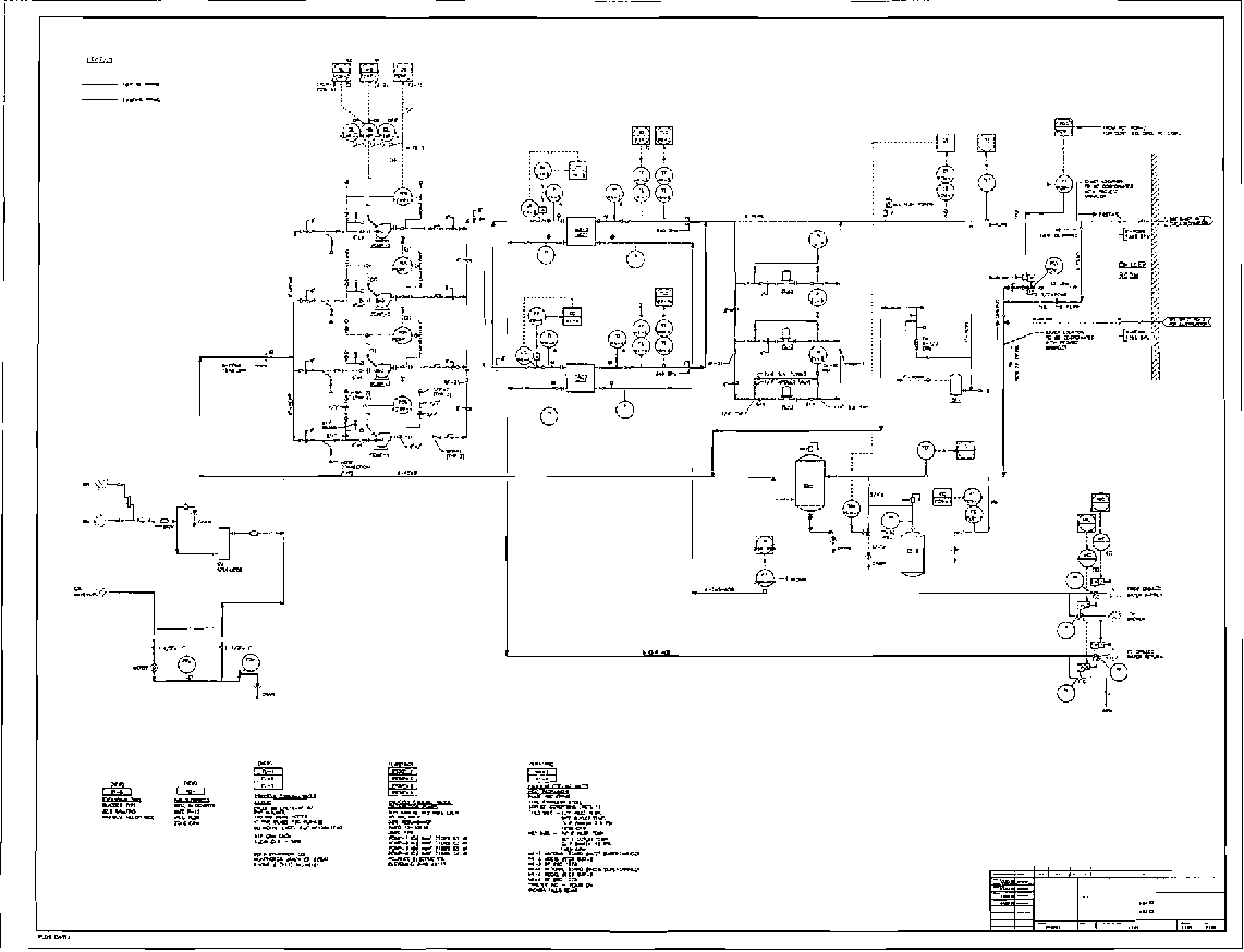 hight resolution of figure 1 one sheet of a representative industrial process and instrumentation diagram p id