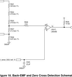 back emf and zero cross detection schematic [ 1166 x 928 Pixel ]