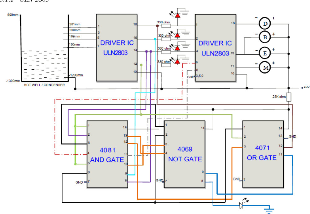 medium resolution of proposed hot well level control system circuit diagram