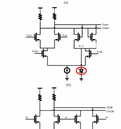 figure 3 circuits of the half rate bang bang phase detector a  [ 692 x 1380 Pixel ]
