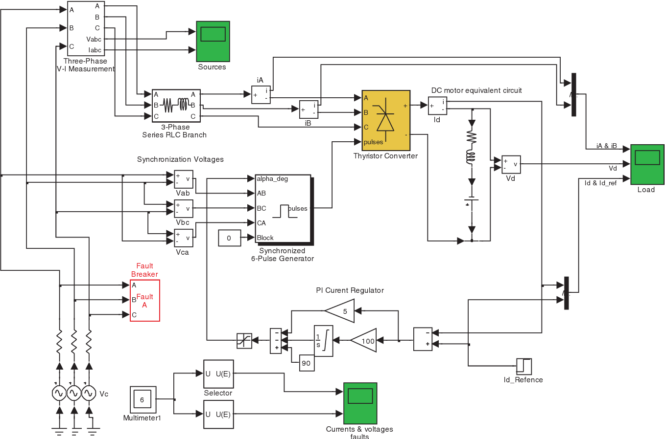 hight resolution of  power supply short circuits faults diagnosis for the rectifier in a on field wiring diagram