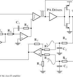 topology of the class d amplifier [ 1320 x 744 Pixel ]