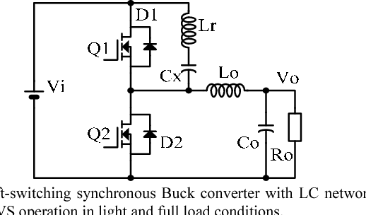 Fig 311 The Buck Converter