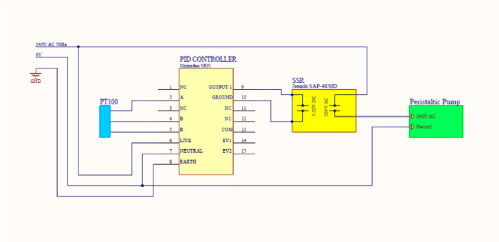 small resolution of figure 5 schematic wiring diagram of the closed loop heating system