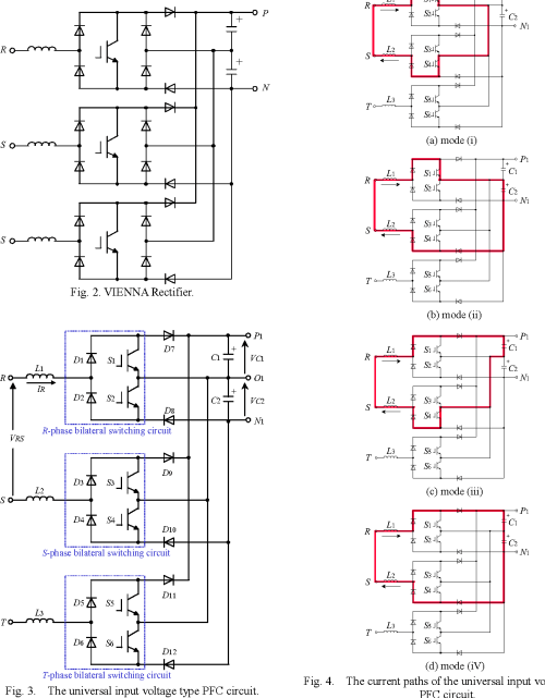 small resolution of the current paths of the universal input voltage type pfc circuit