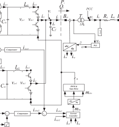 single line schematic diagram of the three phase multi [ 1360 x 1072 Pixel ]
