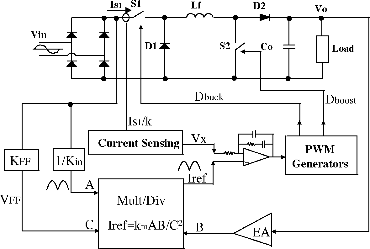 hight resolution of 3 1 buck boost pfc circuit basic system block diagram