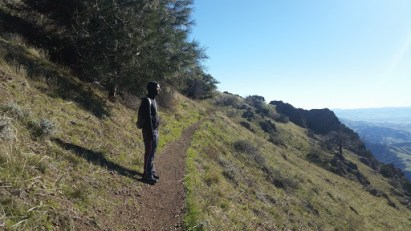 Embarking on the North Peak trail