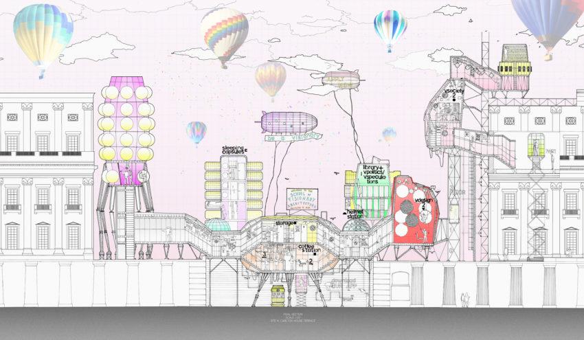 architecture section diagram genie wiring agata malinowska school of visionary the university final