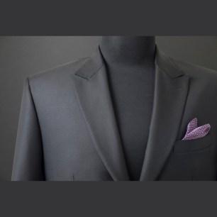 Single jacket made of English fabric with hybrid light construction,hand-stiched in Italian style / Szóló zakó angol alapanyagból könnyű,hibrid technológiával és kézi tűzéssel olasz stílusjegyekkel