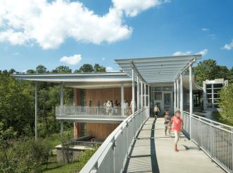 Frick Environmental Center | Bohlin Cywinksi Jackson